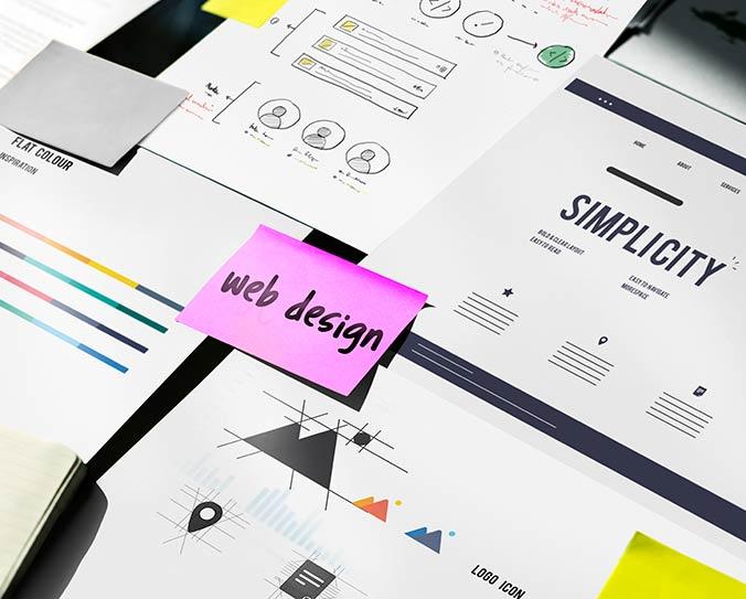 Documents on minimal web design